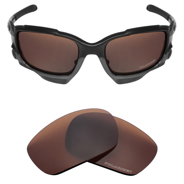 5290bc5dd3d Mryok+ POLARIZED Resist SeaWater Replacement Lenses for Oakley Jawbone  Sunglasses Bronze Brown