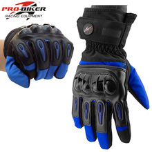 dropshipping Motorcycle Gloves Man Touch Screen Winter Warm Waterproof Windproof Protective Gloves