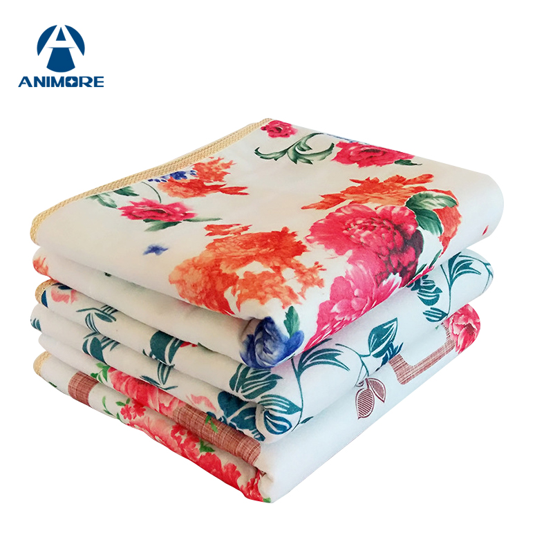 ANIMORE Electric Blanket Electric Heated Blanket Mat Electrica Blanket Heated Blanket Couverture Electrique Carpets Heated EH-03 electric blanket double dual control manta electrica security carpets heated woolen mantas electricas carpets heated carpet mat