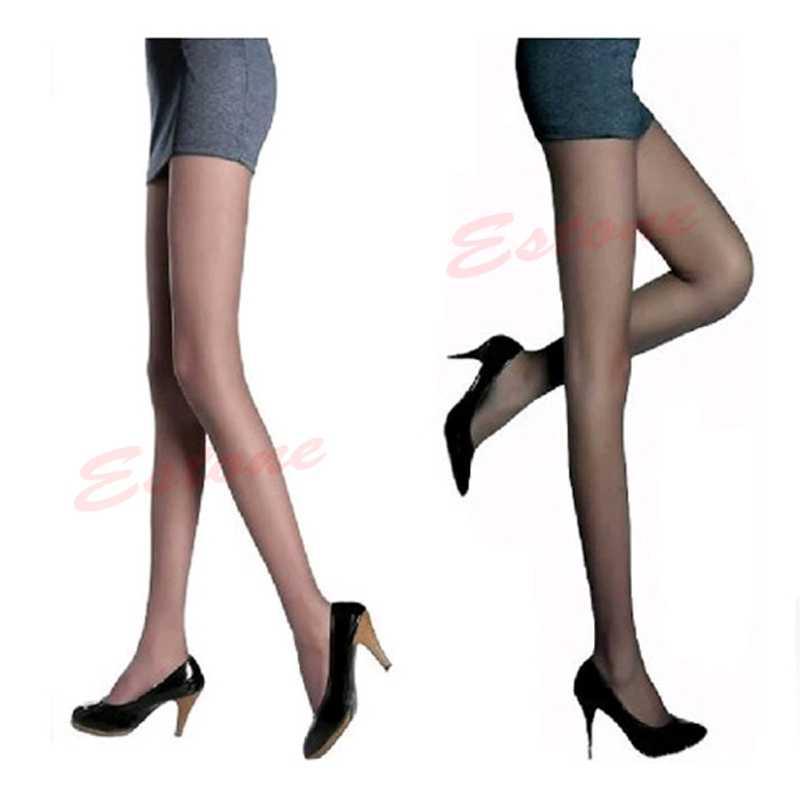 1 ชิ้นเซ็กซี่กึ่งเชียร์ Full เท้าผู้หญิงบาง Pantyhose กางเกงถุงน่อง Legging สำหรับสุภาพสตรีหญิง
