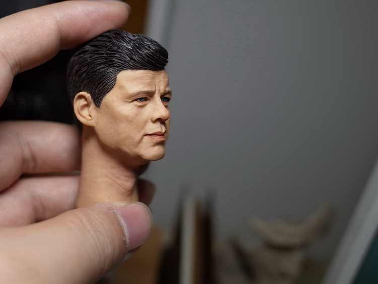 "1//6 John Fitzgerald Kennedy Head Sculpt  For 12/"" Male Action Figure Body Toy"