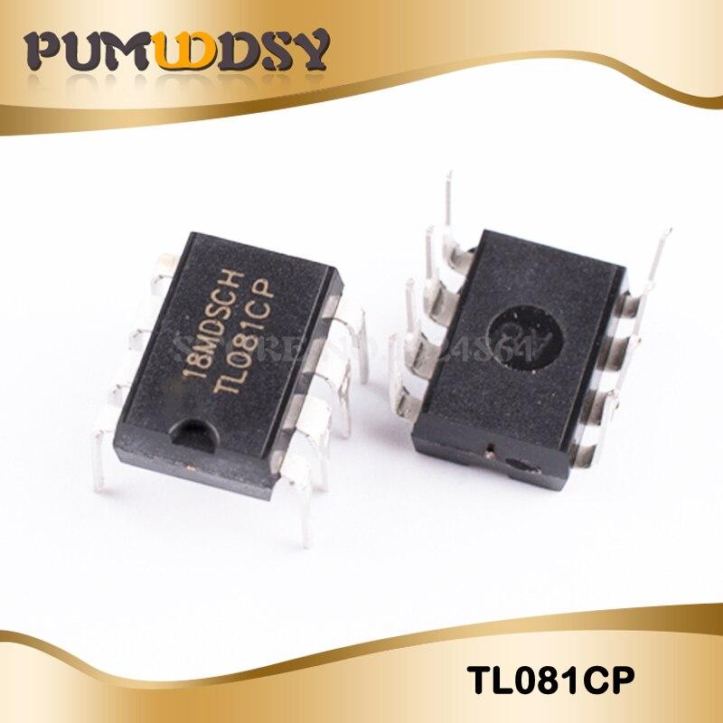 10PCS TL081CP TL081C TL081 DIP