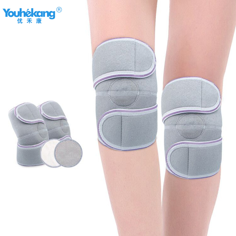 Youhekang 1 Pair Self-Heating Knee Pad Elbow Joint Physiotherapy Brace Massage Therapy Braces Supports for Parent