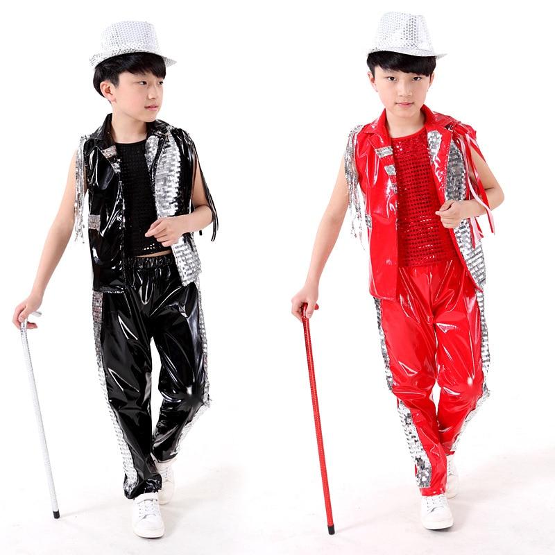 Gyermek Hip Hop jelmezek Gyermek tánc Performance ruházat Street - Újdonság