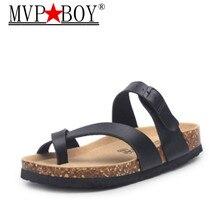 купить MVP BOY 2018 New color Summer Beach Cork Slipper Flip Flops Shoes Women Mixed Color Casual Slides Shoes Flat with Plus Size по цене 1048.02 рублей