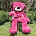 Дориа Трейдер реальные фото! 1 шт Большой 79 '' / 200 см Гигантский Плюшевые Фаршированная Teddy Bear игрушки, 2 Цвета, Бесплатная доставка DY60069