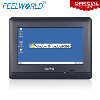 W7 7Inch Industrial Embedded Touch PC WinCE 6.0 Llinux with Lan Port RJ45 RS232 RS485 Industrial Computers Feelworld