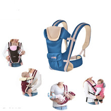 0-30 months breathable front baby carrier 4 in 1 comfortable strap backpack bag  kangaroo style drop shipping