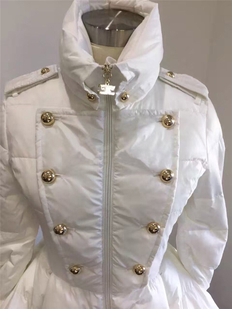 Bas Black Nouvelles Vestes 2017 Blanc Down Haut D'hiver Long Canard Femmes Le Femelle De white Pq137 Chaud Col Moyen Noir Vers Manteau Mode aHH1qrd
