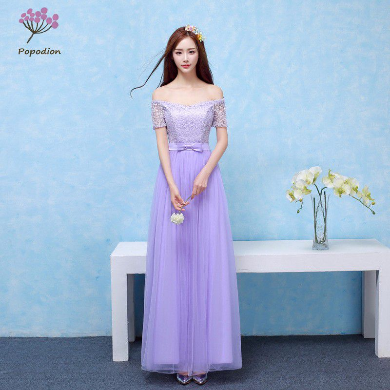 Us 26 85 African Bridesmaid Dresses Long For Wedding Guests Sister Party Formal Dress Plus Size Dress Prom Dresses Real Photo Rom80099 In Bridesmaid