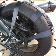 Securing 1 Pcs Motorcycle Wheel Webbing Belt Fixing Fastening Strap Transportation Tie-Down New Useful Durable