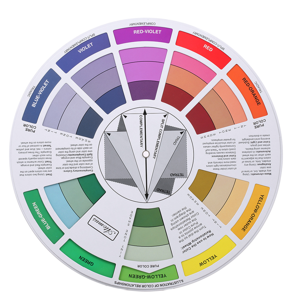 Compare Prices on Color Chart Wheel- Online Shopping/Buy Low Price ...
