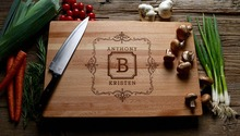 Personalized Wedding favors and gifts Custom Engraved Wooden Cheese Kitchen Board, Wood chopping Blocks, bamboo cutting boards