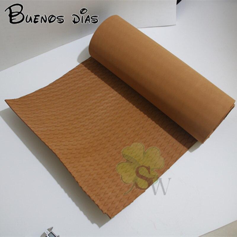 Feuilles antidérapantes de mousse d'eva de tapis de couleur de café de moto de planche de surf, feuilles de métier, faciles à couper avec l'adhensive de 3 M