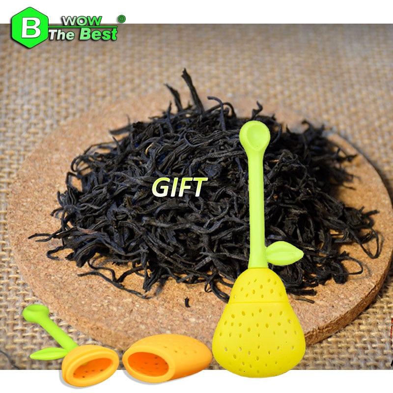 1 pc Tea Strainer + 250g  Lapsang Souchong Tea, Premium Black Tea Chinese Red Tea English Breakfast Te China Hong Cha