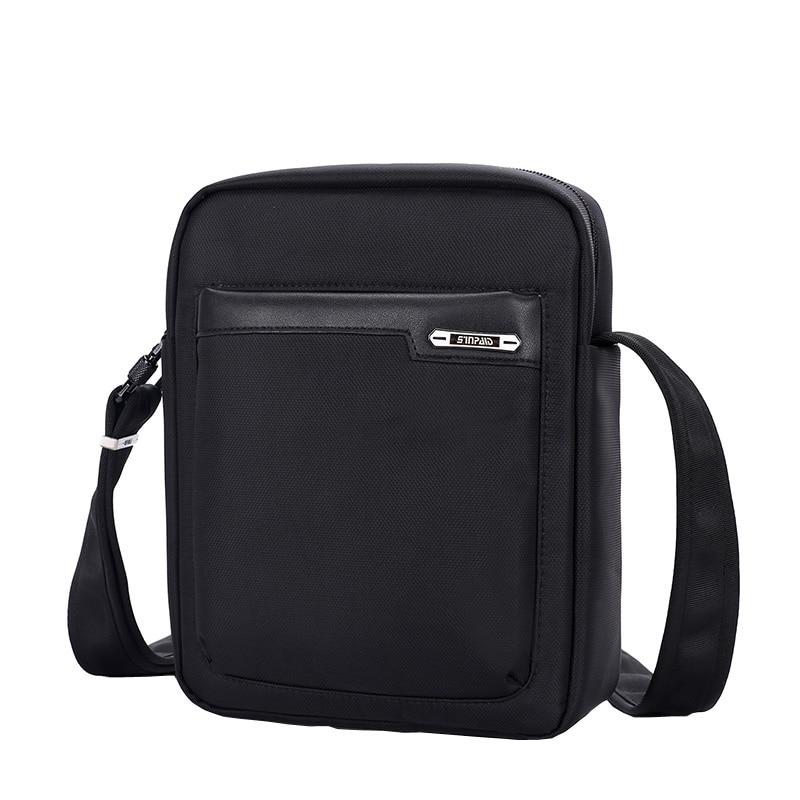 SINPAID Casual Messenger Bag for Men Anti Theft Crossbody Sling Shoulder Bag Online Safe Anti-Theft Buckle and Zipper casual canvas satchel men sling bag