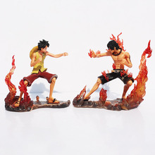 One Piece Ace and Luffy Figures