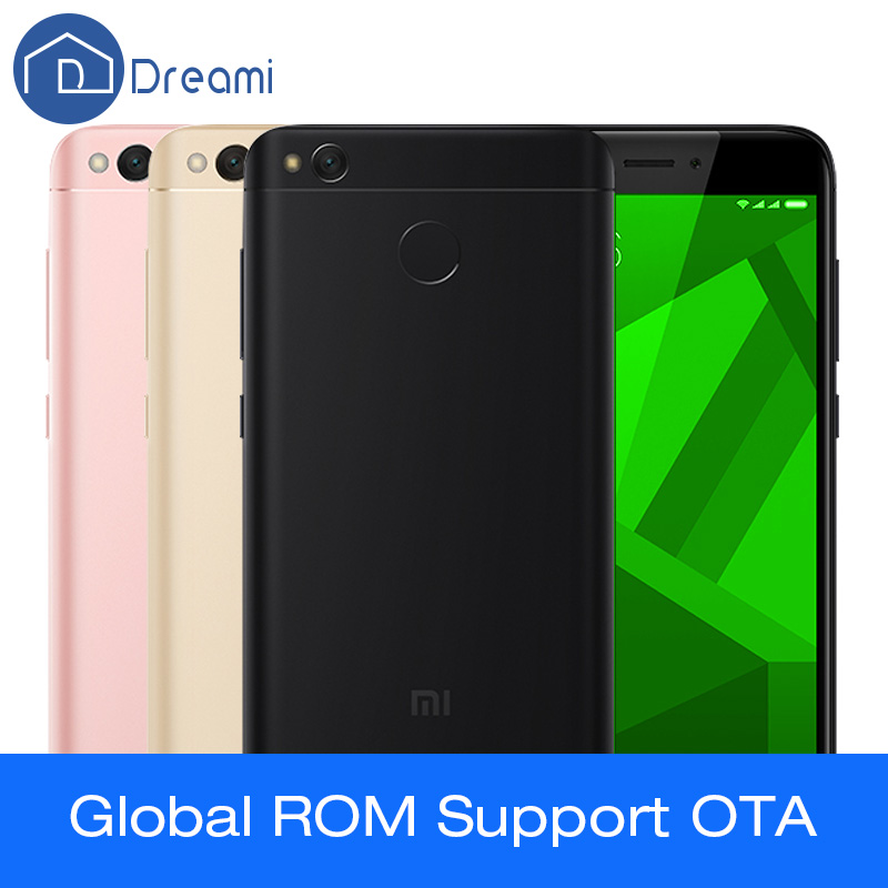 Dreami Original Xiaomi Redmi 4X 2GB 16GB Snapdragon 435 2GB RAM 16GB ROM 4100 MAh 5