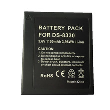 SOULMATE DS8330 lithium batteries pack 8330 Digital Camera Battery DS8330 for Photographed PENTAX A350 SL83 E1000 W800 83S