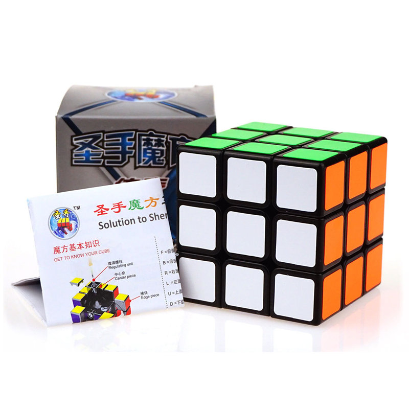 Shengshou 3x3 Magic Cube Legend Professional Speed Cube PVC Sticker Puzzle Cube Boys Gifts Educational Toys Puzzles Magico Cubo