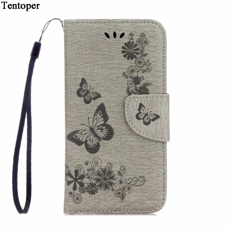 Luxury Butterfly Leather Capa For <font><b>Samsung</b></font> <font><b>Galaxy</b></font> <font><b>A5</b></font> 2017 <font><b>Case</b></font> A7 2017 Book Stand Wallet Phone Cover For <font><b>Samsung</b></font> A3 2017 J3 2017 image