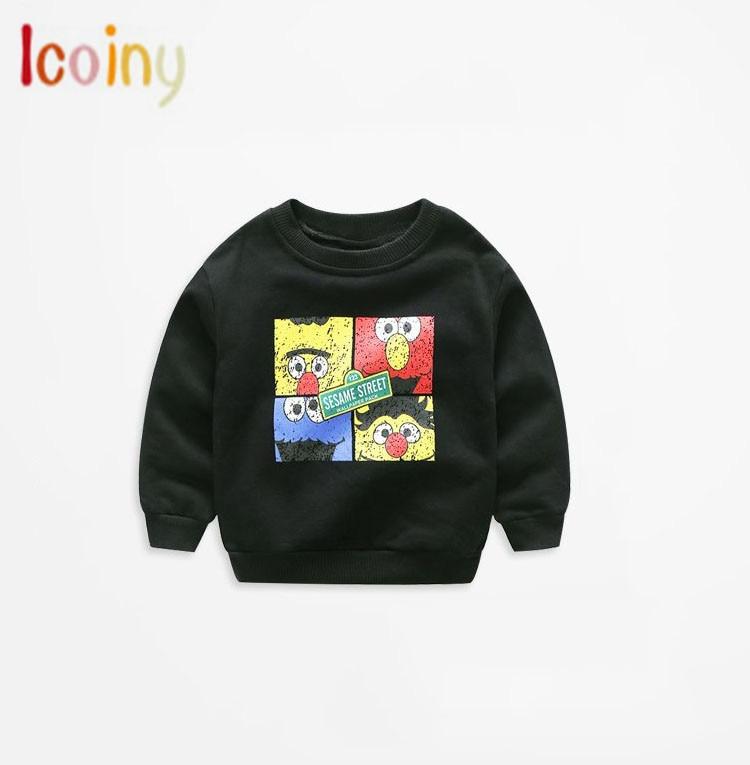 Icoiny Boys Sweater 2018 New Autumn Children Knitwear O-neck Boys Wool Sweater Kids Fashion O-neck Outerwear Age2-8 T