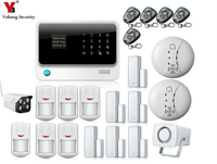 WiFi GSM GPRS Alarm System G90B IOS Android APP Control Home Security Alarm System With Wifi