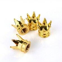 Пылезащитные колпачки valve стволовых dust золотая корона шины caps mtb грузовик