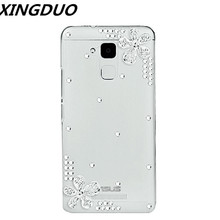XINGDUO simple style bling 3D flower Rhinestone case phone cover For iphone X XS MAX XR Transparent TPU soft for iphone XS 7 8 baseus simple tpu soft case for iphone 7 transparent