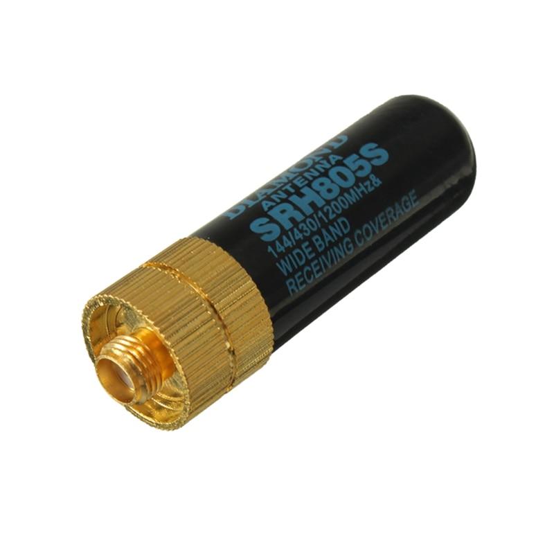 LEORY Short Walkie Talkieantenna SRH805S SMA Female For Baofeng Antenna UV-5R UV-5RB PX-888K Mini Order 10USD Short  Universal