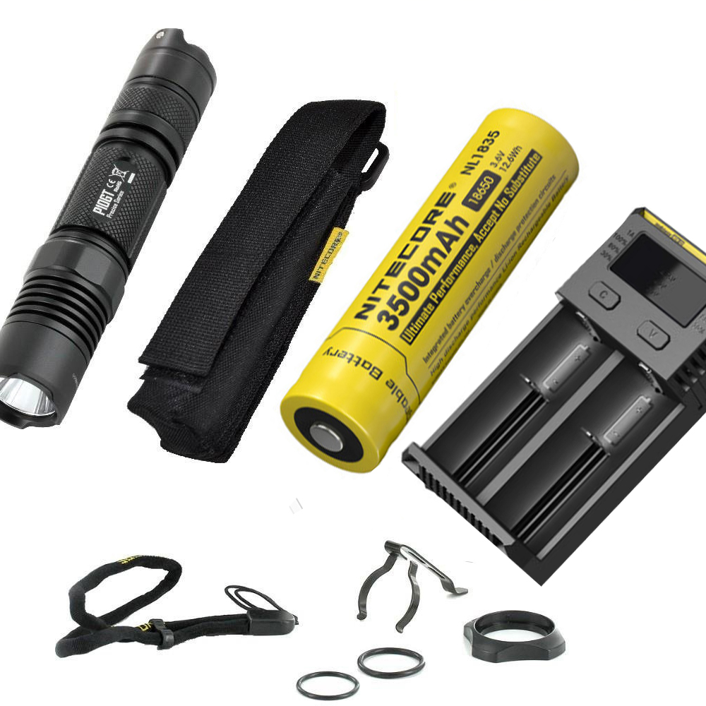 LED Flashlight NITECORE P10GT CREE XM-L2 (T6) LED max. 900lm beam throw 286 meters handheld light ourdoor torch for search 3800 lumens cree xm l t6 5 modes led tactical flashlight torch waterproof lamp torch hunting flash light lantern for camping z93