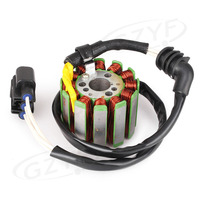 Motorcycle Magneto Generator Engine Stator Coil Assembly for Yamaha YZF R1 2004 2008 & FZ1 2006 2010 & FZ6 2009 2010