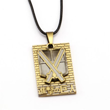 Attack On Titan necklace regiment symbol collar Necklace (4 styles)