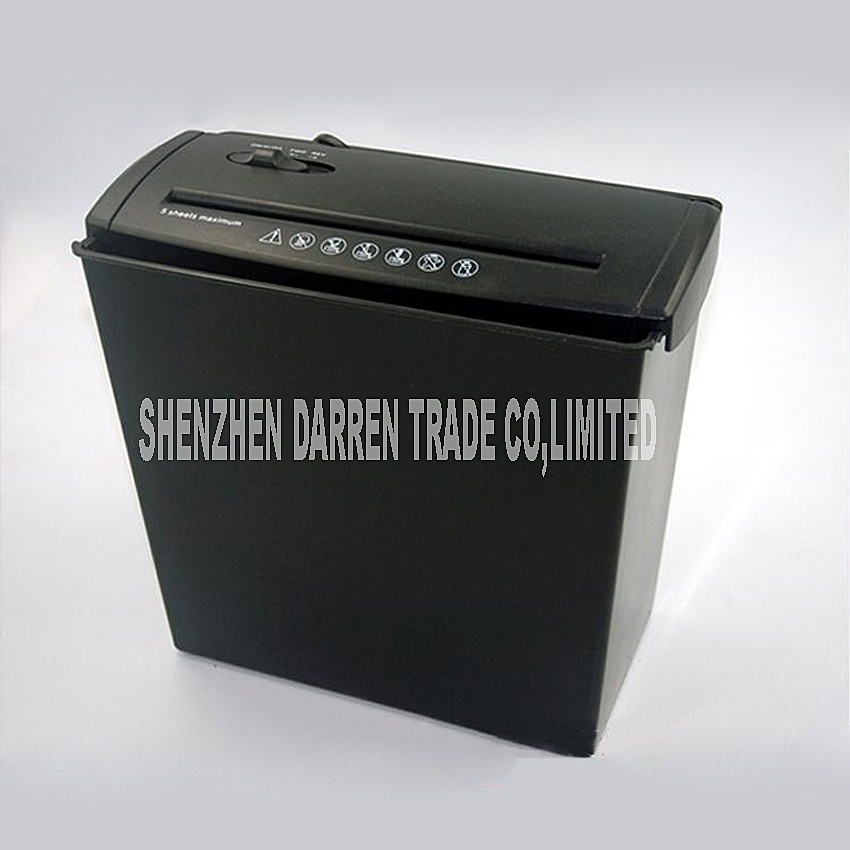1pc A606B Electric Mini Shredder File Shredder Strip Office Home High Power Electric Shredding 220V 140W