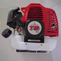 TB50 бензиновый двигатель Mitsubishi 52cc 2 тактный кусторез Триммер части