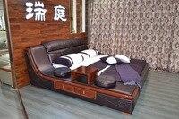 Cabecero Кама мягкая кровать Спальня мебель Срок годности Специальное предложение King не из натуральной кожи Muebles 2016 современная кровати
