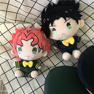 Image 2 - Anime JoJos Bizarre Adventure Golden Wind Bruno Bucciarati Cosplay Cute Plush Stuffed Doll Throw Pillow Kawaii Toy Xmas Gifts