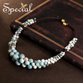 Special New Fashion Natural Stone Maxi Necklaces & Pendants Spring and Summer Style Limited Jewelry Gifts for Women S1638N