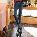 American Apparel Горячие Продажа Boyfriend Джинсы Для Женщин весной 2016 Тонкий Ноги Карандаш Брюки Джинсы Оптом Taobao агент