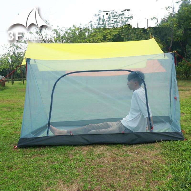 3F UL GEAR Ultralight Outdoor 2 Person summer camping Mesh Tent tent Body Inner Tent tent