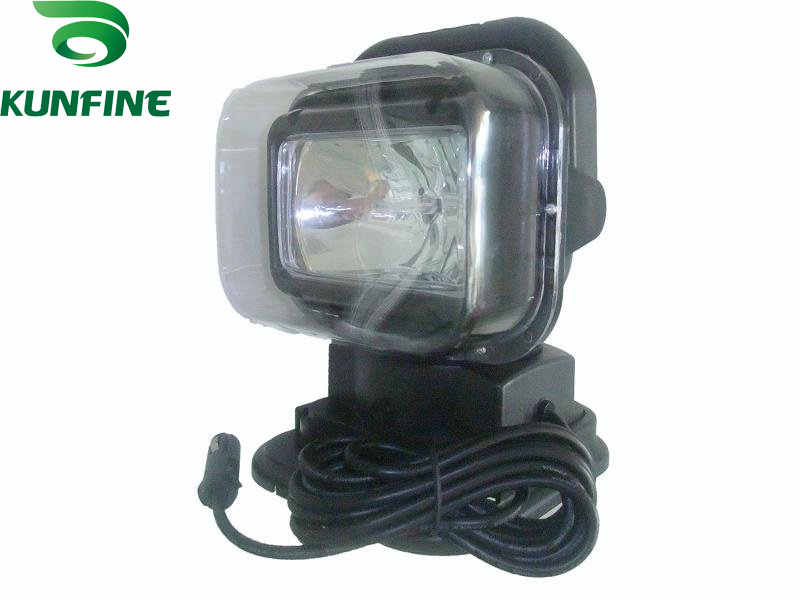ФОТО 9-30V/75W 7 INCH HID Search Light HID Hunting lights for SUV Jeep Truck ATV HID XENON Fog Lights HID work light