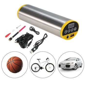 150PSI Bike Electric Pump Bicycle Cycle Air Pressure Inflator Rechargeable Tire Pump MTB Road Bike Motorcycle Car Air Pump