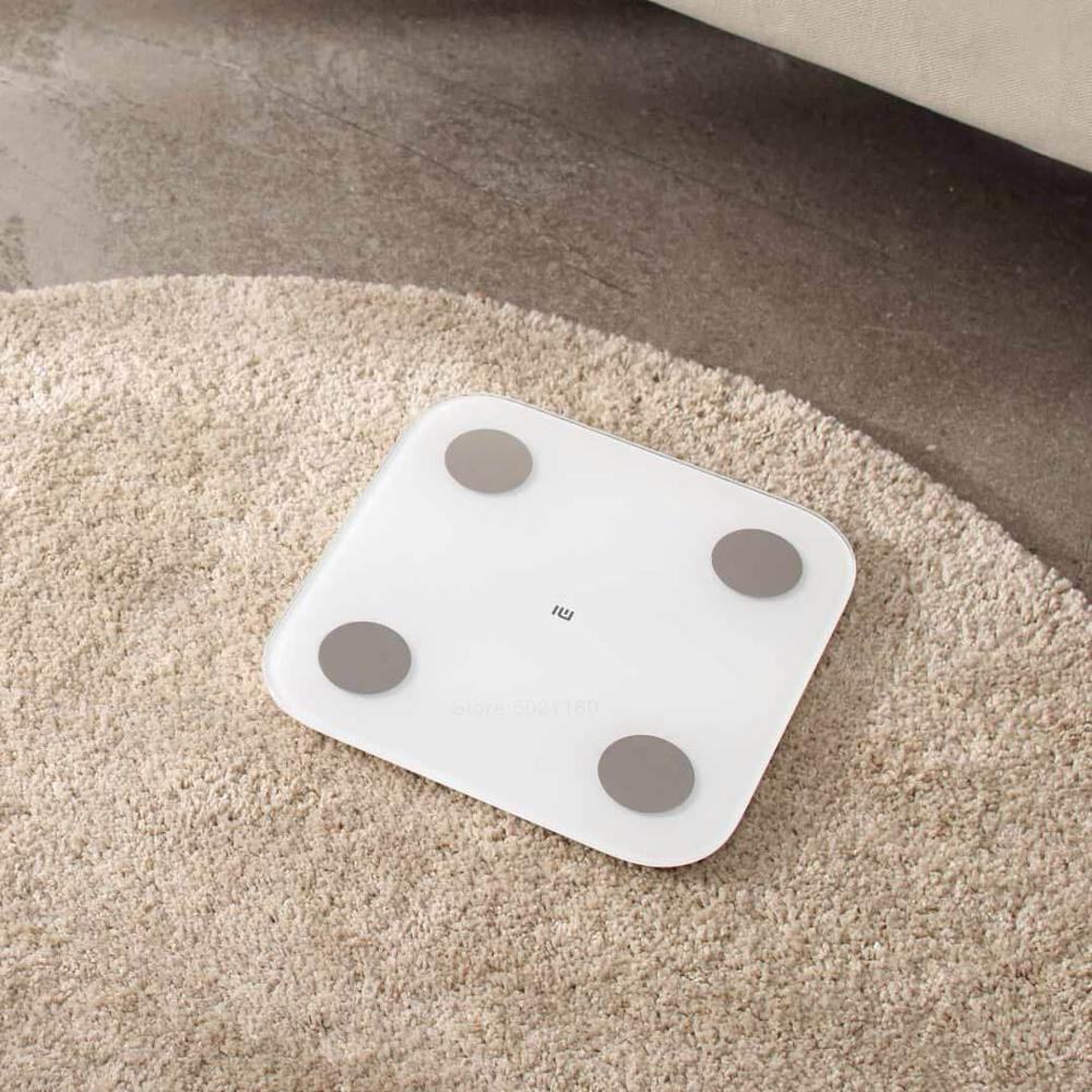 XIAOMI MIJIA Mi Body Composition Smart Scale for Fat and Weight Measurement with App and Data analysis