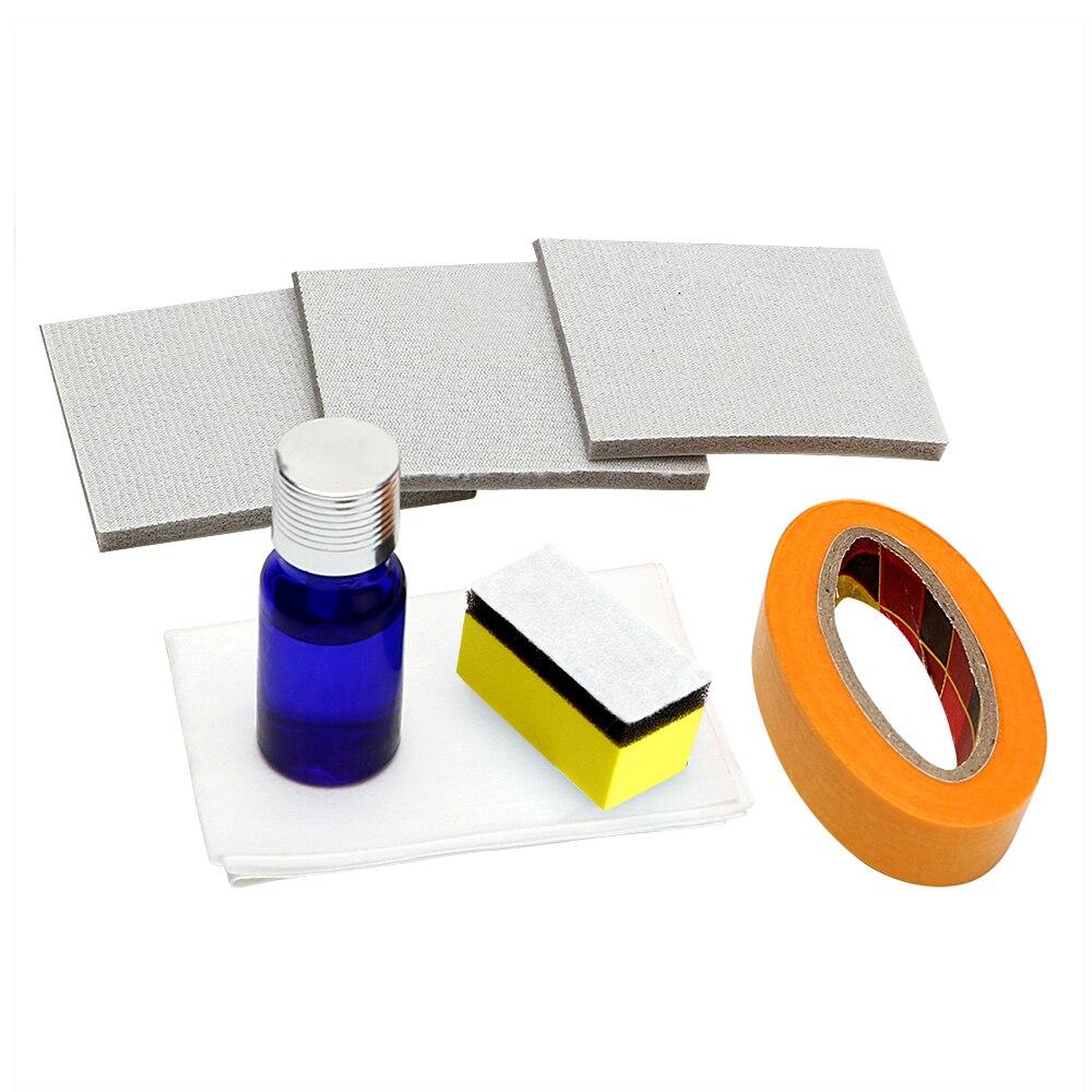 Scheinwerfer Polieren Kit DIY Scheinwerfer Restaurierung für Auto Kopf Lampe Linse Tiefenreinigung Compuesto Pulidor UV Schutz Flüssige