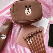 лот Прекрасный Новый Новинка японский коричневый фигурка медведя рилаккума  Ручка гелевая с медведем чернила маркер ручка д. 23ac90010c7de