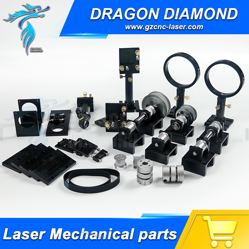 цены  Top Quality CO2 Laser Cutter Parts engraved machine Parts Hardware Transmission Laser head Mechanical Components