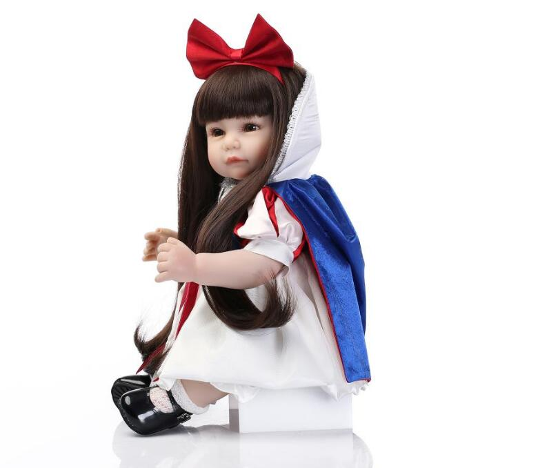 22 inch silicone reborn dolls newborn baby cheaper price solid doll toy for girl reborn dolls Reborn Dolls with Soft Real Gentle