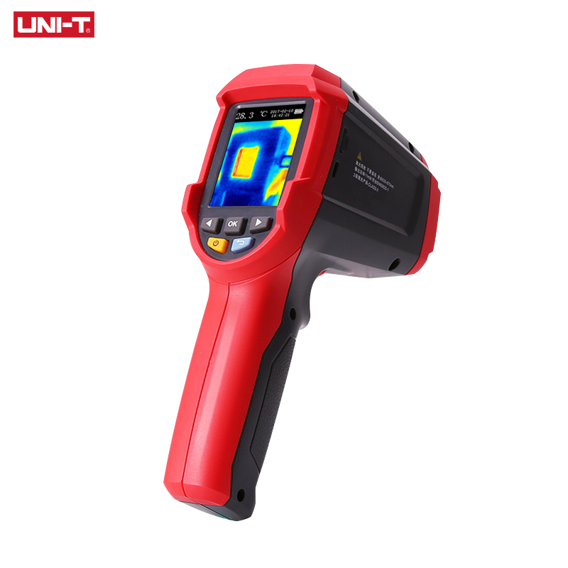 UNI-T UTi89 Imager Thermal Imaging Camera Termômetro Infravermelho-30C para 450C Grau 4800 pixels de Alta Resolução da Cor Da Tela