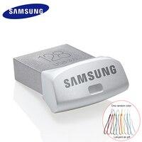SAMSUNG USB Flash Drive Pendrive 128 gb USB 3.0 32 gb 64 gb de Memoria de Metal Mini disco Flash de Memoria U Disco Stick usb Para El Vehículo