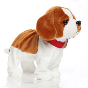 Image 5 - Electronic Pets Sound Control Robot Dogs Bark Stand Walk Cute Interactive Toys Dog Electronic Husky Pekingese Toys For Kids